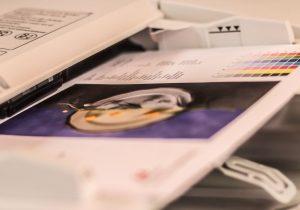 Canon Photocopier Printout